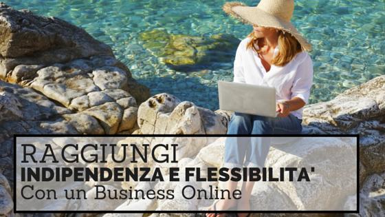 indipendenza e flessibilità con un business virtuale